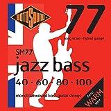 Rotosound SM77 Monel Flatwound Hybrid Bass Guitar Strings (40 60 80 100)