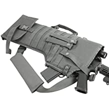 Ultimate Arms Gear Tactical, Ambidextrous Molle AR15 AR-15 M4 M16 Rifle Scabbard Soft Protective Carry Case, Urban Grey Gray