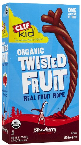 Clif Kid Organic ZFruit Rope Strawberry -- 6 Bars by Clif Bar