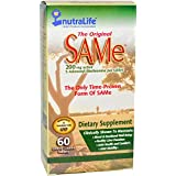 Nutralife The Original SAMe -- 200 mg - 60 Enteric-Coated Table