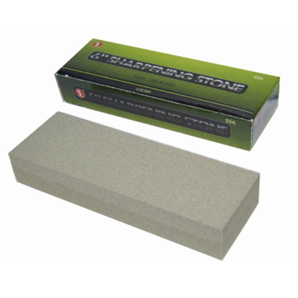 Amazon.com: Se ss6 Dual Grit Piedra de afilar (grano 120 y ...
