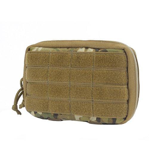 YAKEDA® Tactical MOLLE EMT Military Medical Erste-Hilfe-Tasche Medizinische Packungsbeilage , und Map-Beutel für Trauma oder Fall einer Naturkatastrophe zu verwenden oder im Freienüberlebenswerkzeug P