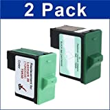Dell T0529 and T0530 -2 Pack – Black and Color Ink Cartridges, Office Central