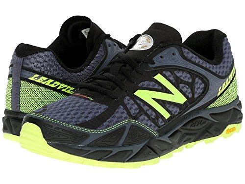 (ニューバランス) New Balance メンズランニングシューズ?スニーカー?靴 Leadville Black/Toxic ブラック 8.5 (26.5cm) 4E