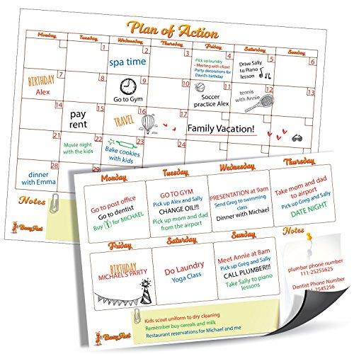 Dry Erase Calendar Week - 9