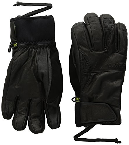 Burton Gondy Gore-Tex Leather Gloves, True Black, (Burton Leather Glove)