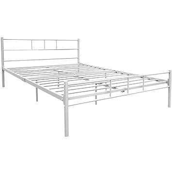 Home Discount Dorset King Size Bed Frame 5ft Metal Bed Frame