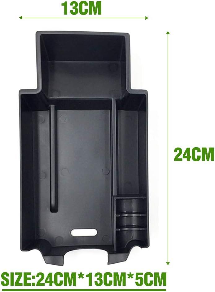 Ajing Accessories for Mercedes-Benz CLA GLA W176 Center Console Organizer Tray Storage Box Coin And Sunglasses Holder Compatible Car Storage Organiser