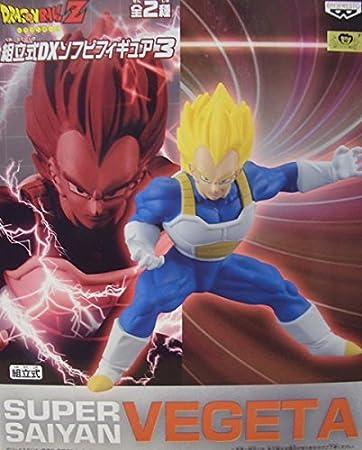 Dragon Ball Z Prefabricated DX Soft Vinyl Figure Super Saiyan 3 Vegeta Japan Import
