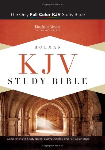 KJV Study Bible, Saddle Brown LeatherTouch Indexed