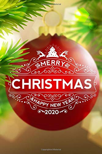 2020 Merry Christmas Images Merry Christmas Happy New Year 2020: No Stress Holiday Organizer
