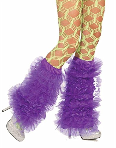 (Forum Novelties Women's Club Candy Novelty Tutu Leg Warmers, Purple, One)