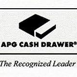 APG Cash Drawer T320-BL1616-U6 Series 100 Cash Drawer Adjustable Media Slot 320 MultiPRO Interface and 16 Inch x 16 Inch with U6 Till - Color Black