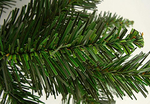 Northlight 2' x 18'' Buffalo Fir Medium Artificial Christmas Wall or Door Tree - Unlit by Northlight (Image #3)