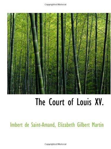 Download The Court of Louis XV. pdf epub