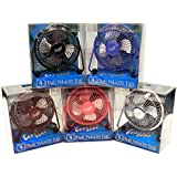 """Comfort Zone CZHV4BX 4"""" Adjustable Assorted Colors High Velocity Cradle Fan"""