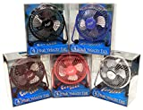 Comfort Zone CZHV4BX 4' Adjustable Assorted Colors High Velocity Cradle Fan