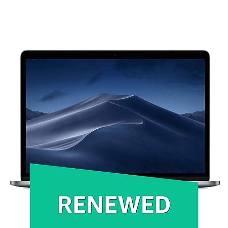 (Renewed) Apple MacBook Pro (13-inch Retina, Touch Bar, 2.3GHz Quad-Core Intel Core i5, 8GB RAM, 256GB SSD) - Space Gray