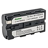 Kastar Battery for Sony NP-F330 NP-F550 NP-F570 and Sony DCR-TRV210 DCR-TRV310 DCR-TRV315 DCR-TRV320 Camcorders