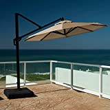 RST Modular 10 ft. Round Patio Market Umbrella