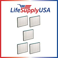 5 Pack Replacement Filter for Hunter 30940 30210 30214 30215 30216 30225 30260 30398 30400 30401 by LifeSupplyUSA