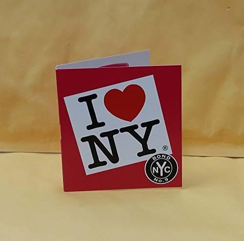 1 Sample Vial Bond No. 9 I LOVE NEW YORK for HER Perfume 0.057 oz EDP Spray NEW