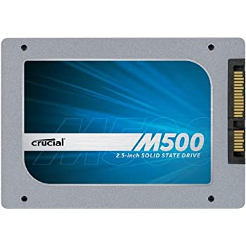 "(OLD MODEL) Crucial M500 240GB SATA 2.5"" 7mm (with 9.5mm adapter) Internal Solid State Drive -  CT240M500SSD1"