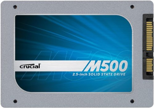"M500 240GB SATA 2.5"" 7mm (with 9.5mm adapter) Internal Solid State Drive - CT240M500SSD1 ()"