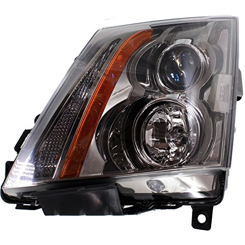 Evan-Fischer EVA13572035612 Headlight for CTS 08-15 Assembly Halogen Coupe/Sedan/Wagon With Bulb(s) Driver Side