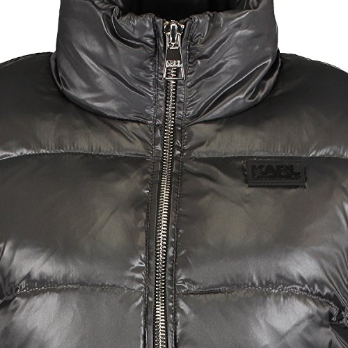 Karl Grey Lagerfeld Puffa Quilted Jacket zz0wg