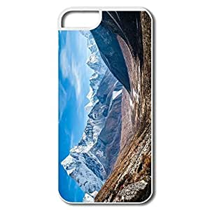 IPhone 5 5S Cases, Nature White Cover For IPhone 5 5S