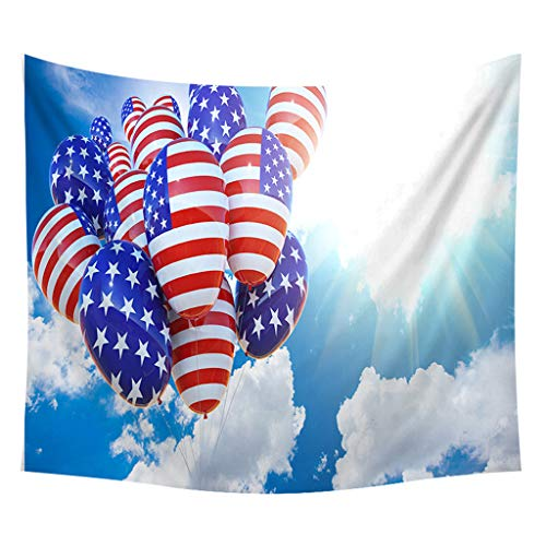 - Mysky Independence Day Print Home Tapestry Wall Hanging Wall Decoration