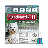 Bayer K9 Advantix II Flea, Tick and Mosquito Preve...