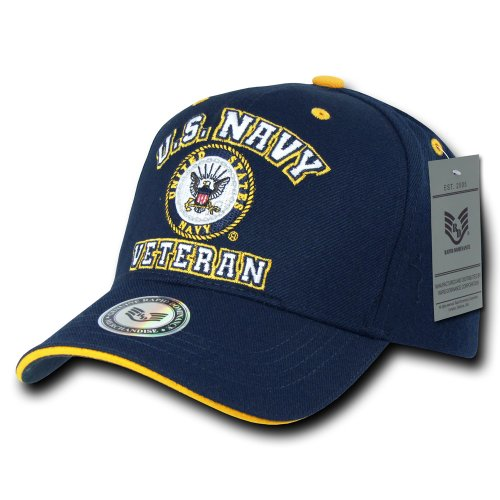 Military Baseball - Rapiddominance Veterans' Cap, Navy