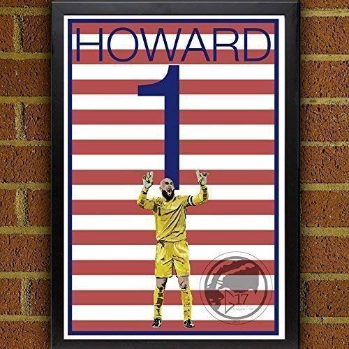 Wall Graphic Howard - Tim Howard United States Men's National Team Poster