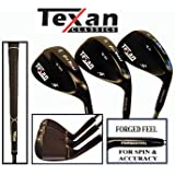 Texan Classics Gun Metal Wedge (Set of 3 52, 56, 60)