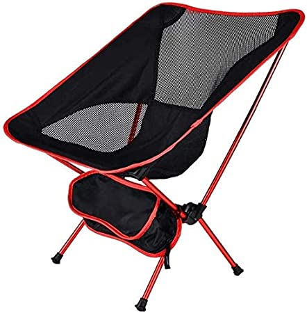Hiking Blue Willa Outdoor Ultralight Folding Camping Chair with Portable Carry Bag for Hunting Fishing Travel