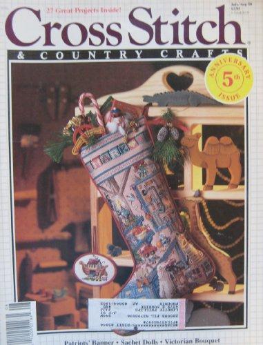 Cross Stitch Christmas Magazine (Country Stitch Magazine July/August 1990)