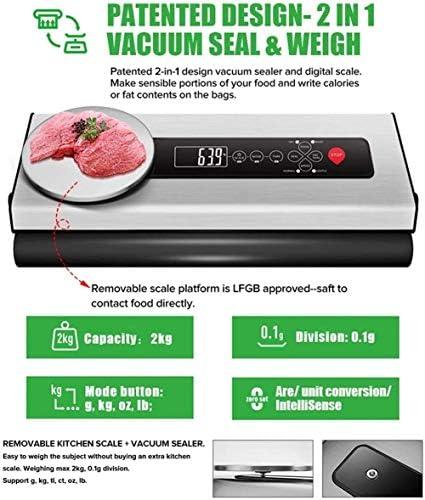 Passez l'aspirateur Scellant for l'alimentation, vide Scelleur Machine, automatique des aliments Scellant machine One-Touch d'étanchéité/vide for Croquettes Fre GDSZMMLS