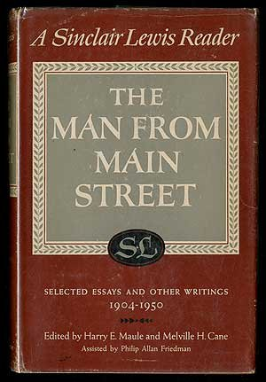 Essays main street sinclar lewis