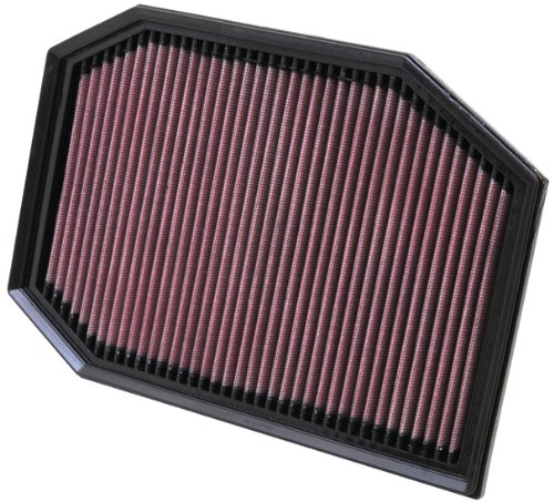 K&N 33-2970 High Performance Replacement Air Filter for 2009-2010 BMW 523I 3.0L L6