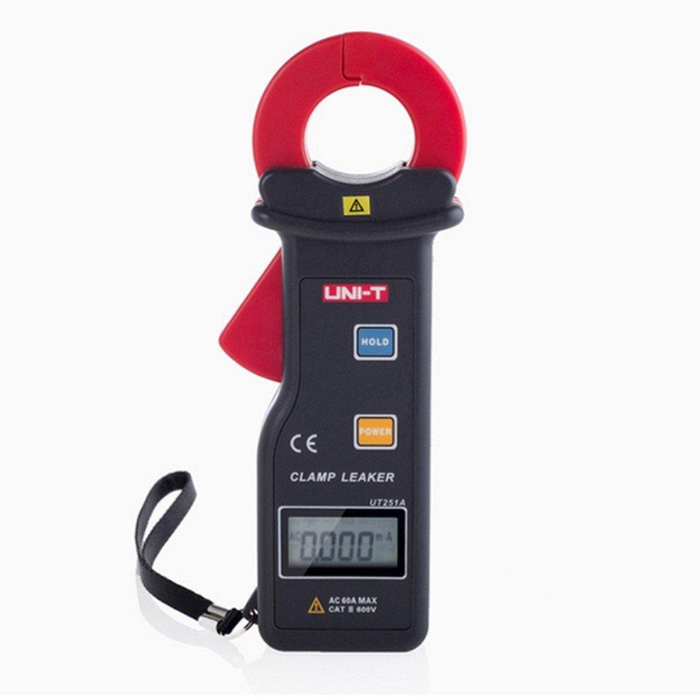 UNI-T ut251 a o ut251 C RS-232 alta sensibilidad fugas pinza amperimétrica (metros w/99 registro de datos amperímetro multímetro: Amazon.es: Electrónica