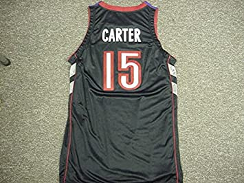 2045163cb15 Image Unavailable. Image not available for. Color  Vince Carter. Toronto  Raptors 2000-2004 Road Nike Game Jersey
