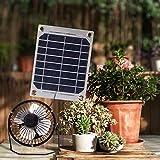 Solar Fan 5W 4 inch Free Energy for Greenhouse