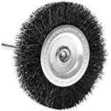 Century Drill and Tool 76431 Coarse Drill Radial Wire Brush, 3-Inch
