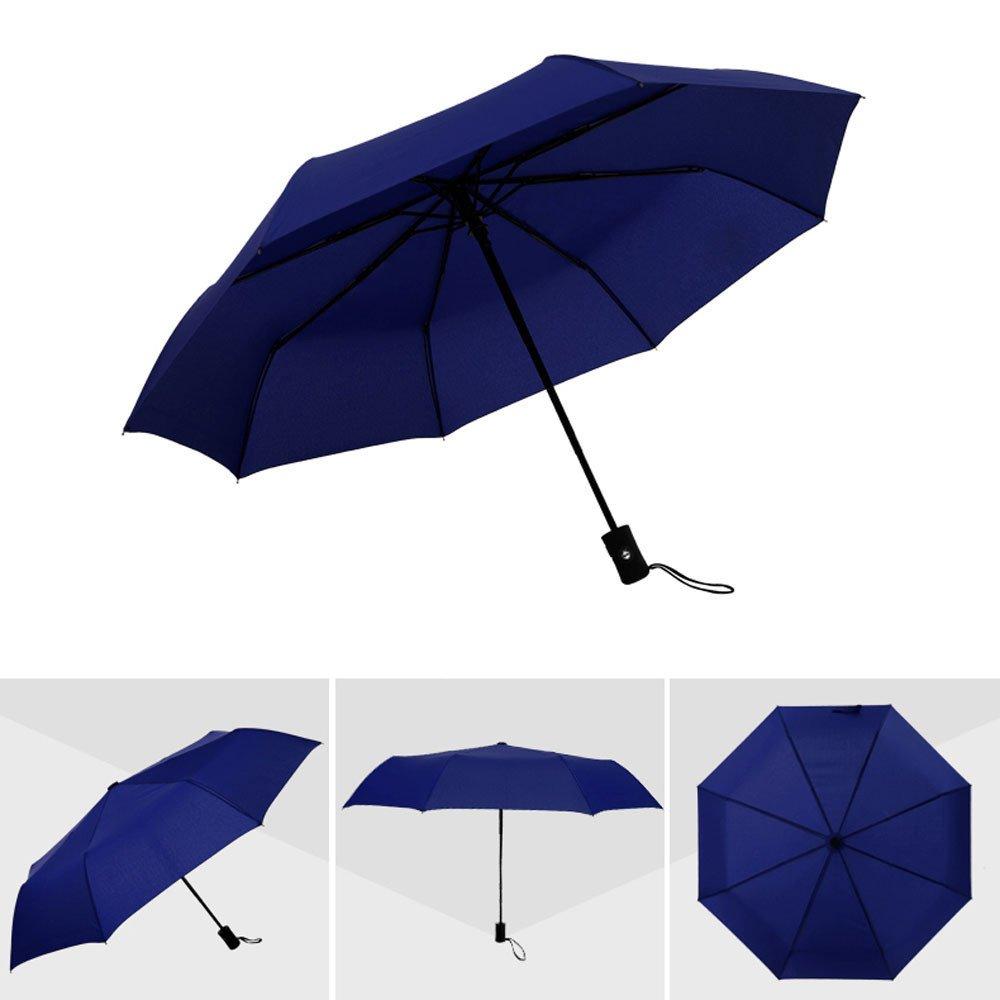 Cebbay-Paraguas Paraguas Plegable Hombre Automático ...