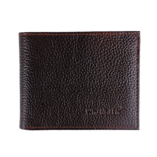 WRANGLER Men #39;s brown genuine leather wallet AG 612br