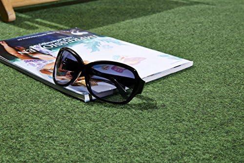Tidyard Kunstrasen mit Noppen PP 20 x 1,33 m Gr/ün Kunstrasen mit Noppen Rasenteppich Fertigrasen Kunststoffrasen Outdoor Teppich Garten Balkon Terrasse
