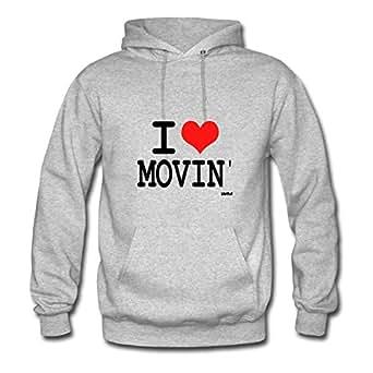 Lynsnyd I Love Movin By Wam Image Sweatshirts X-large For Women Grey