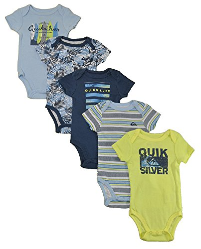 quiksilver-boys-5-pack-bodysuit-navy-lime-3-6-months